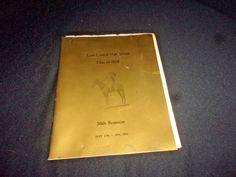 1938 Tulsa Central High School 50th Reunion Assembly Program