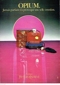 PUBLICITE ADVERTISING 016 1979 YVES SAINT-LAURENT parfum Opium