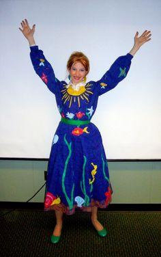 mrs frizzle costume ocean