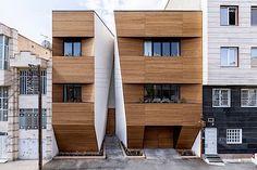 Architektur: Ein modernes Wohnhaus im Iran