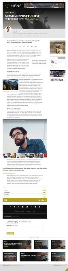 Shockmag WordPress theme - http://demo.strictthemes.com/?theme=Shockmag