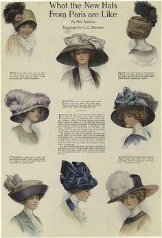 libelle anno jaar kruik <--I think I broke Google translate with this, but I do love big Victorian Hats!