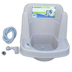 outdoor sink Outdoor Garden Sink, Outdoor Sinks, Rv Camping, Glamping, Diy Rv, Camper Van, Sims, Backyard, Outdoors