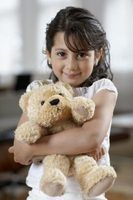 Surface wash your child's favorite stuffed animal to keep it in good condition.
