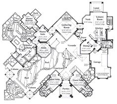 House Plan The Windsor Court | Sater Design Collection | Luxury House Plans