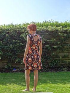 Made by MaZella : jurk patroon Belladone by Deer & Doe