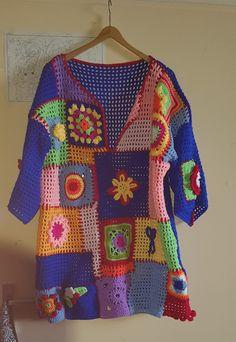Type:FloralSleeve Type:Half SleeveMaterial:KnittedOccasion:Daytime,Going Crochet Jumper, Black Crochet Dress, Crochet Cardigan, Crochet Top, Freeform Crochet, Filet Crochet, Crochet Woman, Crochet Fashion, Crochet Clothes