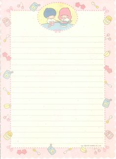 Da minha coleção de papel de carta. Creo q aún guardo cartas hechas en estos hermosos papeles.
