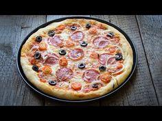 Pizza domowa - co musisz wiedzieć, żeby zrobić genialną pizzę - YouTube Polish Recipes, Polish Food, Pizza Hut, Hawaiian Pizza, Pepperoni, Vegetable Pizza, Cooking Recipes, Vegetables, Healthy