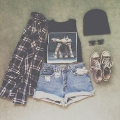 all of it is cute but I would throw out the shirt :))))