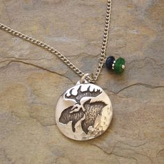 Abalone moose necklace moose lanyards pinterest products gemstone moose necklace love aloadofball Images