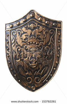 decorative shield - back cover?