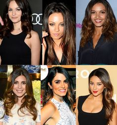 Top 2 Celebrity Sombré Hair Colors 2014 Spring: Dark Brown  Black Ombre & Sombre Hair Colors 2014~2015 Celebrity