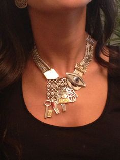Still my favorite piece of jewelry. Azza Fahmy - a true artist. Love.