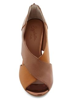 Seychelles Common Ground Wedge | Mod Retro Vintage Wedges | ModCloth.com