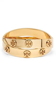 Tory Burch Logo Faux Wrap Bracelet available at #Nordstrom