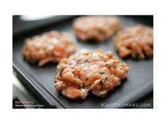Mini burgery z łososia | Kwestia Smaku