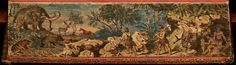 40-fresques-incroyables-cachees-sur-le-bord-des-pages-de-livres-anciens-16 Le monde avant le déluge, 1819 par James Montgomery
