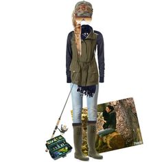 Designer Clothes, Shoes & Bags for Women Outfits For Outdoor Activities, Date Outfits, Summer Outfits, Fishing Outfits, Gone Fishing, Vacation Outfits, Well Dressed, Summer Fun, Military Jacket