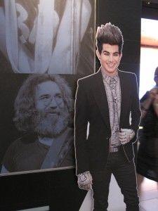 Flat Addy Friday: Adam Lambert Visits With Rock Legends! - http://adam-lambert.org/flat-addy-friday-adam-lambert-visits-with-rock-legends-2/