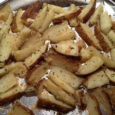 Oven Fresh Seasoned Potato Wedges Allrecipes.com