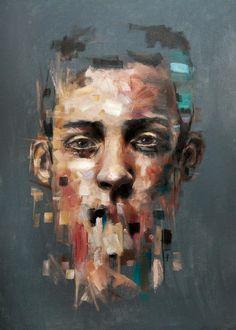 Uniek Olie schilderij door Davide Cambria
