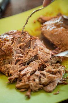 Pulled Pork i slow cookern Actifry, Pulled Pork, I Foods, Love Food, Slow Cooker, Beef, Meals, Recipes, Crock Pot