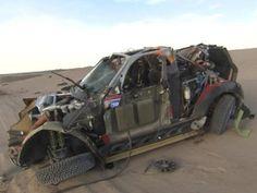 Dakar 2011 post crash