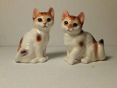 Vintage Japan Napcoware #1777 Cats Salt & Pepper Shaker Set