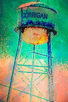My photo of one more Texas watertower
