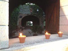 Decora tu boda con velas!