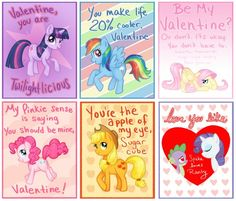 mlp valentines day card maker