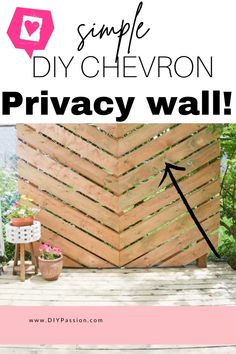 Outdoor Privacy, Backyard Privacy, Backyard Patio, Porch Privacy, Garden Privacy, Patio Planters, Backyard Ideas, Covered Patio Design, Small Patio Design