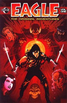 Midtown Comics' 10/13/15 #Deal of the Day: Eagle The Original Adventures Vol 1 TP for 60% OFF!