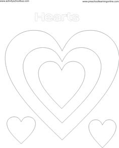 Fresh Heart Outline Coloring Page