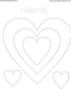 tracing hearts shape worksheet homeschooling pinterest heart alphabet worksheets and shape. Black Bedroom Furniture Sets. Home Design Ideas
