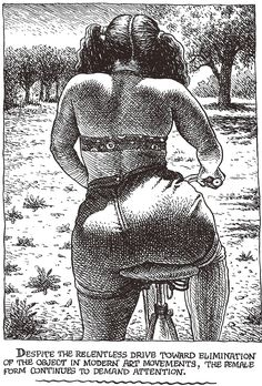 "Robert CRUMB 1996 - ART  BEAUTY MAGAZINE #1 -  ""… continues to demand attention."""