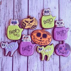 Catrinas Cookie Set Halloween 2014