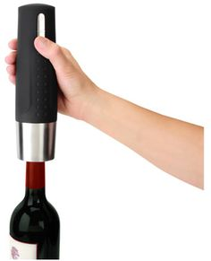 A wine-lovers best friend. The automatic wine opener.