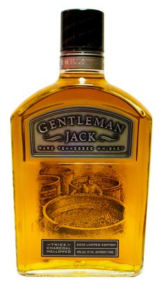 Gentleman Jack Commemorative 2010 - Available only in the 750ml size, this bottle displays an image that can be seen from both the front and the back