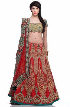 A Niki Mahajan badla-embellished lehenga   Vogue India