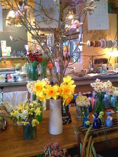 Marigold and Mint shop, Seattle, in the Melrose Market