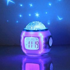 Night Light Projector Alarm Clock More gift for girls Gift ideas > https://buzz.jifiti.com/gifts-for/girls/  #Girl #Gifts