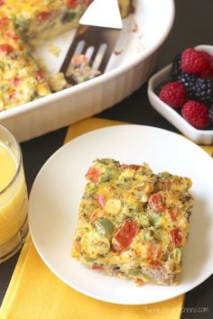 Farmer's Market Overnight Breakfast Egg Casserole