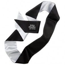 Fifty Shades of Grey All Mine Deluxe Blindfold. Relive Christian Grey and Ana Steele's erotic exploration in the flesh and enjoy the intensified pleasure that comes with submission. Fifty Shades Of Grey All Mine Deluxe Blindfold Ana Steele, Lovers Eyes, Christian Grey, Fifty Shades Of Grey, Bandeau, Black Satin, Black White, Sexy Lingerie, Stuff To Buy