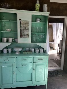 Mint Vintage Cupboard from Kiki's Vintage Studio