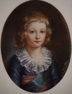 Louis XVII (1785-1795), late 18th C attributed to Louise-Elisabeth Vigee Le Brun (1755-1842)