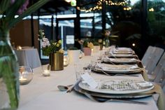 Wedding receptions and ceremonies are delightful moments at the Tailrace Centre. Marriage takes longer then a day to plan and we are here to help. Spring Theme, Wedding Receptions, Palm Springs, Table Settings, Marriage, Beautiful, Style, Mariage, Stylus