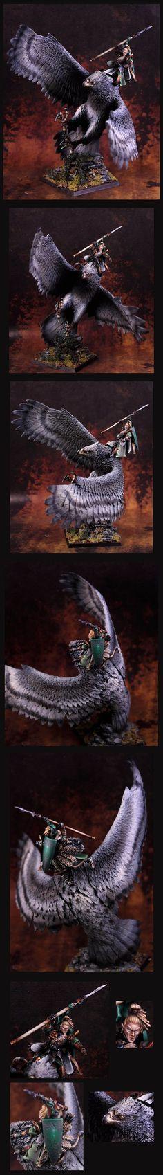 Elf Hero na Great Eagle