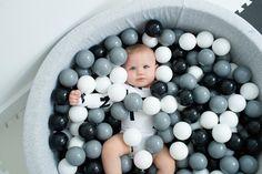 Mini Be Ball Pit - Monochrome